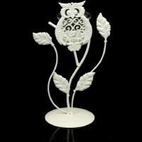 Подсвечник декоративный «Совушка» белый купить в Минске +375447651009