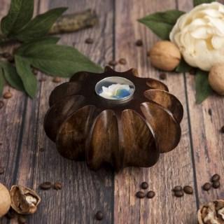 Подсвечник из мангового дерева «Цветок соблазна» купить в Минске +375447651009