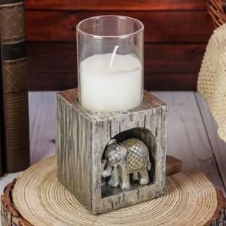 Подсвечник декоративный «Индийский слон» купить в Минске +375447651009