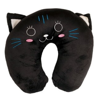 Подушка-подголовник «Черный кот» Минск +375447651009