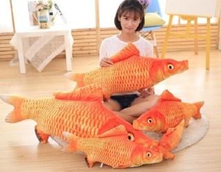 Подушка рыба «Карп» 55 см. купить в Минске +375447651009