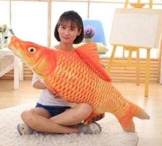 Подушка рыба «Карп» гигант 75 см. купить в Минске +375447651009