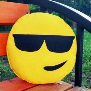 Подушка смайлик «Крутой» купить в Минске +375447651009