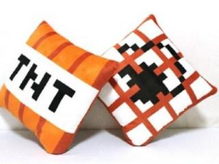 Подушка «TNT» Minecraft купить в Минске +375447651009
