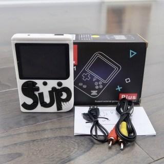 Портативная игровая приставка «Game Box» 400 в 1 белая купить Минск +375447651009