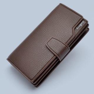 Портмоне-клатч «Baellerry Classic» коричневый Минск +375447651009