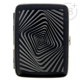 Портсигар с зажигалкой «Иллюзия» с зарядкой от USB Минск +375447651009