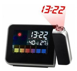 Проекционные часы с метеостанцией  купить