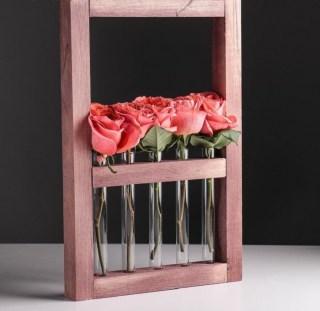 Рамка-ваза «Мокко» 5 колб купить в Минске +375447651009