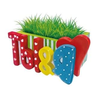 растущая трава с вазоном ты я купить