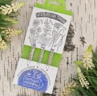 Растущие карандаши 'Итальянские травы' черные 3 штуки Минск