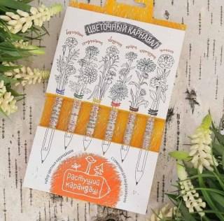 Растущие карандаши Цветочный карнавал купить