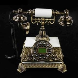 Ретро телефон 'Розы' лепнина купить
