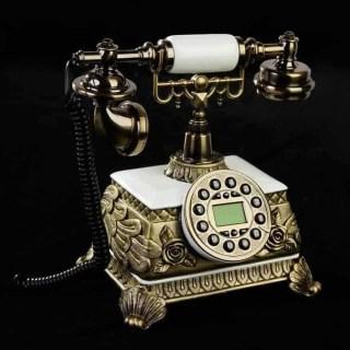 Ретро телефон «Розы» лепнина купить Минск