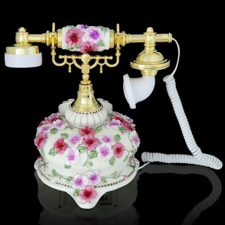 Ретро телефон «Цветочная легенда» купить Минск +375447651009