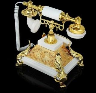 ретро телефон золотая пирамида купить