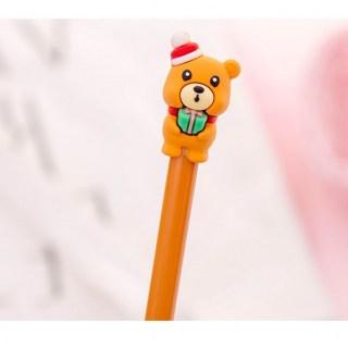 Ручка гелевая «Медведь» черный стержень купить в Минске +375447651009