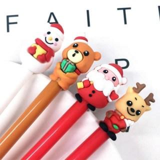 Ручка гелевая «Снеговик» черный стержень купить в Минске +375447651009