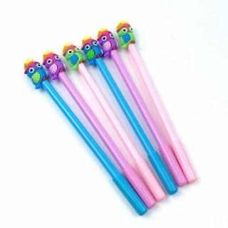 Ручка гелевая «Совушка» розовая купить в Минске +375447651009