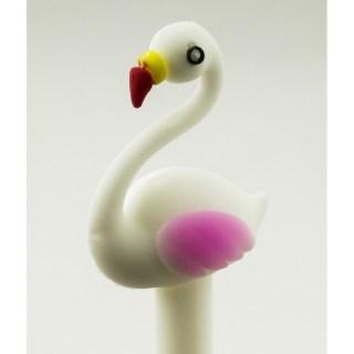Ручка гелевая «Волшебный фламинго» белая купить в Минске +375447651009