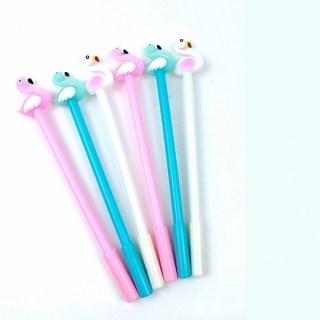 Ручка гелевая «Волшебный фламинго» бирюзовая купить в Минске +375447651009