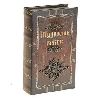 Сейф-книга «Мудрость веков» кожа купить Минск