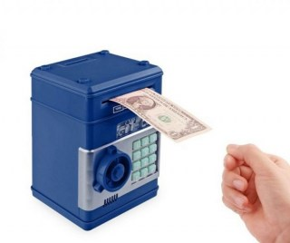 Сейф с купюроприемником синий Минск +375447651009