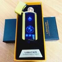 Сенсорная USB зажигалка «BMW» золотистая Минск +375447651009