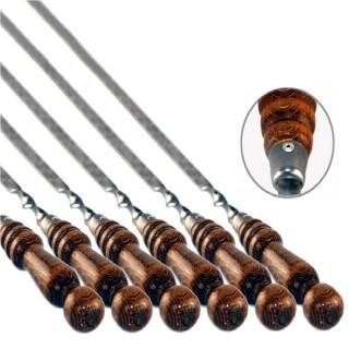 Шампура с деревянной ручкой набор 11 штук Минск +375447651009