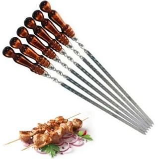 Шампура с деревянной ручкой набор 9 штук Минск +375447651009
