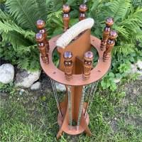 Шашлычный набор шампуров на подставке 8 штук Минск +375447651009