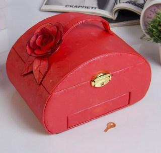 Шкатулка для украшений и бижутерии «Красная роза» купить в Минске +375447651009