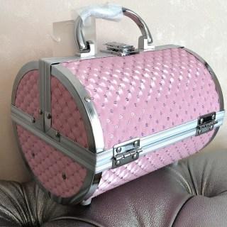 Шкатулка для украшений и бижутерии «Сундучок» розовая купить в Минске +375447651009