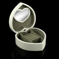 Шкатулка для украшений «Сердце» белая купить в Минске +375447651009