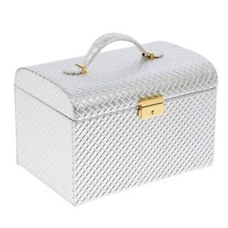 Шкатулка для украшений «Серебряный сундучок» купить