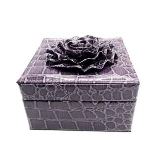 Шкатулка для украшений «Цветок» фиолет купить в Минске +375447651009