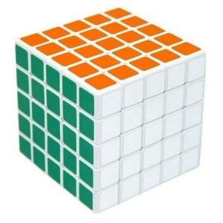 Скоростной кубик 5х5 ShengShou (белый) купить Минск