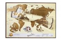 Скретч-карта мира купить в Минске