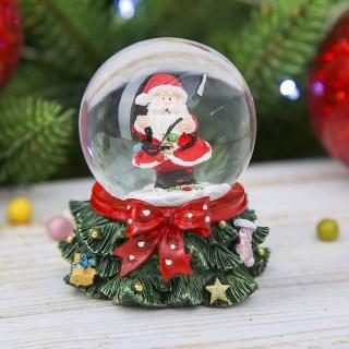 Снежный шар «Красный бант» купить в Минске +375447651009