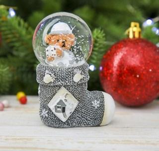 Снежный шар «Мишка» купить в Минске +375447651009