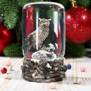 Снежный шар «Полярная сова» Минск +375447651009