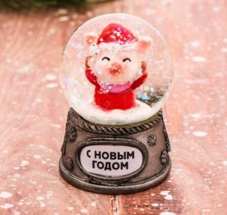 Снежный шар «С Новым Годом» купить в Минске +375447651009