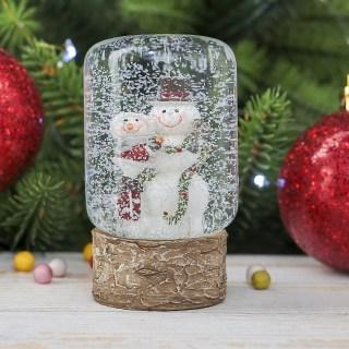 Снежный шар «Снеговик» купить в Минске +375447651009