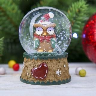 Снежный шар «Сова» купить в Минске +375447651009