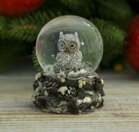 Снежный шар «Совенок» купить в Минске +375447651009