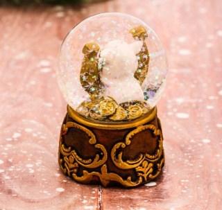 Снежный шар «Удачи!» купить в Минске +375447651009
