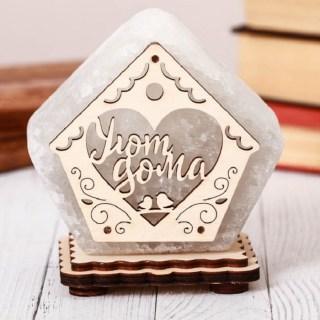 Соляная лампа «Домик» 1 кг.  купить в Минске +375447651009