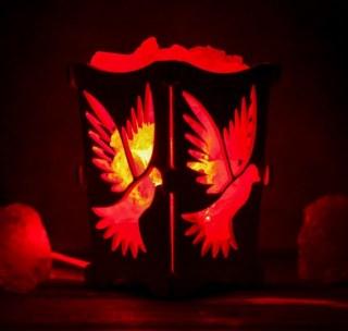 Соляная лампа «Голуби» 1,2 кг. купить в Минске +375447651009