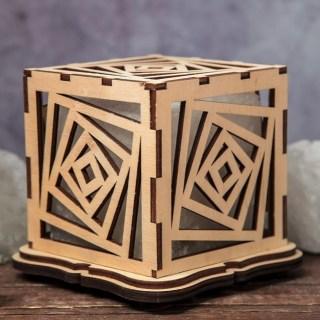 Соляная лампа «Лабиринт» 1 кг. купить в Минске +375447651009