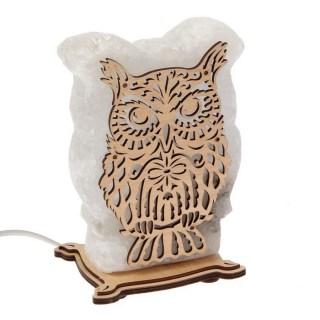 Соляная лампа «Сова» 2,5 кг. купить в Минске +375447651009